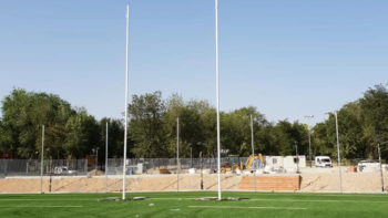 jafep middle east sealants and adhesives Artificial Grass Rugby Filed Entrevías